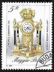Stamps Hungary -  Reloy antiguo 1643