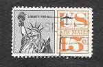 Sellos de America - Estados Unidos -  Monumento Americano
