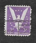 Sellos de America - Estados Unidos -  Águila Americana