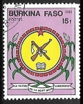 Sellos del Mundo : Africa : Burkina_Faso : Escudo de armas