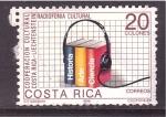 Sellos de America - Costa Rica -  cooperación cultural