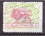 sello : Asia : Irán : donación para el León Rojo