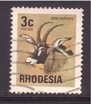 Stamps Zimbabwe -  Antílope
