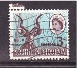 Sellos de Africa - Zimbabwe -  Kudu