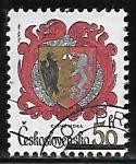 Sellos de Europa - Checoslovaquia -  Escudo de Armas - Kutna Hora