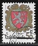 Sellos de Europa - Checoslovaquia -  Escudo de Armas de Turnov