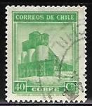 Sellos del Mundo : America : Chile : Industria - minería