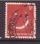 Stamps Turkey -  Luna y estrella