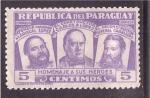Sellos de America - Paraguay -  homenaje a sus heroes