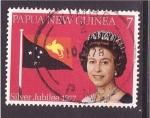 Stamps Oceania - Papua New Guinea -  Jubileo de plata
