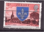 Stamps of the world : Jersey :  St. Mary