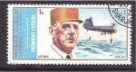 Stamps United Arab Emirates -  Charles de Gaulle y Airgraft