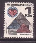 Stamps Czechoslovakia -  población