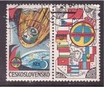 Stamps Czechoslovakia -  INTERKOSMOS