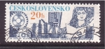 Stamps of the world : Czechoslovakia :  40 años de tecnología