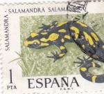 Stamps : Europe : Spain :  SALAMANDRA (35)