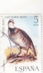 Stamps Spain -  PERDIZ ROJA (35)