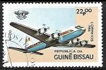 Sellos del Mundo : Africa : Guinea_Bissau : DC-68 - 40 aniversario de la aviación civil