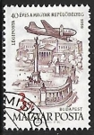 Stamps : Europe : Hungary :  Heroes' Square, Budapest