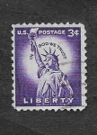 Stamps United States -  1035 - Estatua de la Libertad