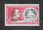 Sellos de America - Estados Unidos -  C66 - 100 Aniversario Internacional de la 1ª Conferencia Postal