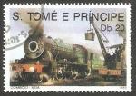 Sellos del Mundo : Africa : Santo_Tomé_y_Principe :  Tren
