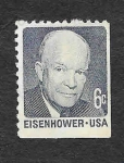 Sellos del Mundo : America : Estados_Unidos : Dwight David Eisenhower