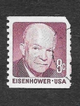 Stamps United States -  Dwight David Eisenhower