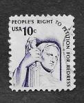 Sellos del Mundo : America : Estados_Unidos : Contemplación de la Justicia