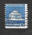 Sellos del Mundo : America : Estados_Unidos : Monumento a Thomas Jefferson