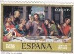 Stamps : Europe : Spain :  SANTA CENA /j.DE JUANES)  (35)