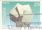 Stamps : Europe : Spain :  MINERALES DE ESPAÑA- PIRITA (35)