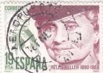 Stamps : Europe : Spain :  HELEN KELLER (35)