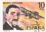Stamps : Europe : Spain :  BENITO LOYGORRI (35)