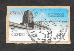 Stamps Spain -  Arquitectura Postal A Coruña (ATM)