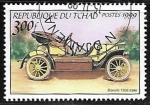 Sellos de Africa - Chad -  1906 Bianchi