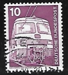 Sellos de Europa - Alemania -  Transporte publico