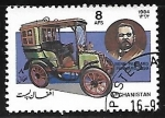 Sellos del Mundo : Asia : Afganistán : Panhard Limosine (1899)