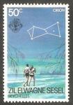 Sellos del Mundo : Africa : Seychelles : Zil Elwagne Sesel - 105 - Constelación Orión