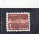 Stamps : Europe : Bulgaria :  EDIFICIO