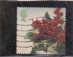 Stamps : Europe : United_Kingdom :  PLANTA NAVIDEÑA