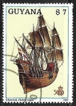Stamps French Guiana -  Grande Francoise