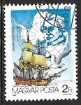 Sellos de Europa - Hungría -  James Cook, Wandering Albatros