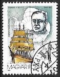 Sellos de Europa - Hungría -  Robert F. Scott