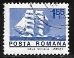 Sellos de Europa - Rumania -  Velero