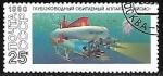 Sellos de Europa - Rusia -  Submarino Paisis