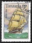 Sellos de Africa - Tanzania -  Battle Ship