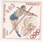 Stamps : Europe : Monaco :  OLIMPIADA TOKIO