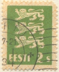 Stamps Europe - Estonia -  Eesti