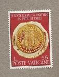 Stamps Europe - Vatican City -  Martirio S. Pedro y Pablo